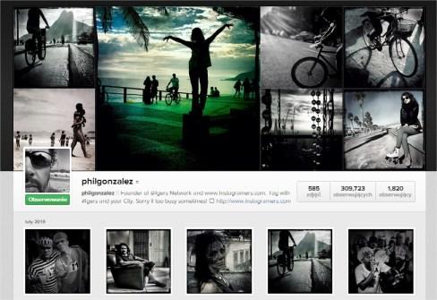 Phil Gonzalez na Instagramie
