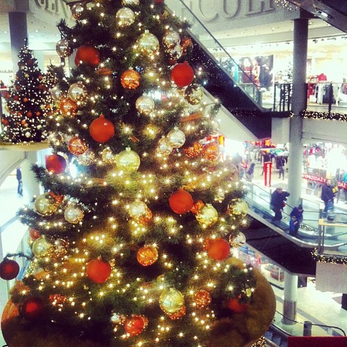 Centrum handlowe Galeria Krakowska Święta Bożego Narodzenia 2012