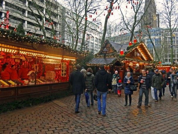 Weihnachtsmarkt Gerhart Hauptmann Platz