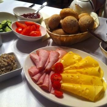 Pomysły na śniadanie w hotelu Aubrecht na Kaszubach