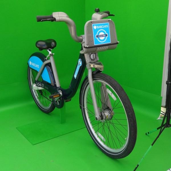 Miejski rower Barclays Cycle Hire na greenboxie