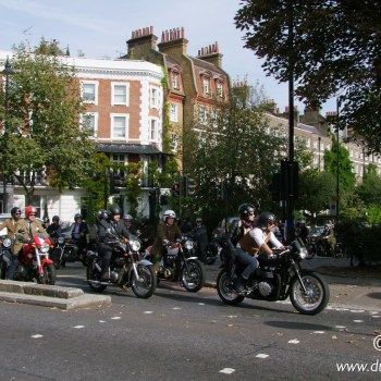 The Distinguished Gentleman's Ride 2014 London
