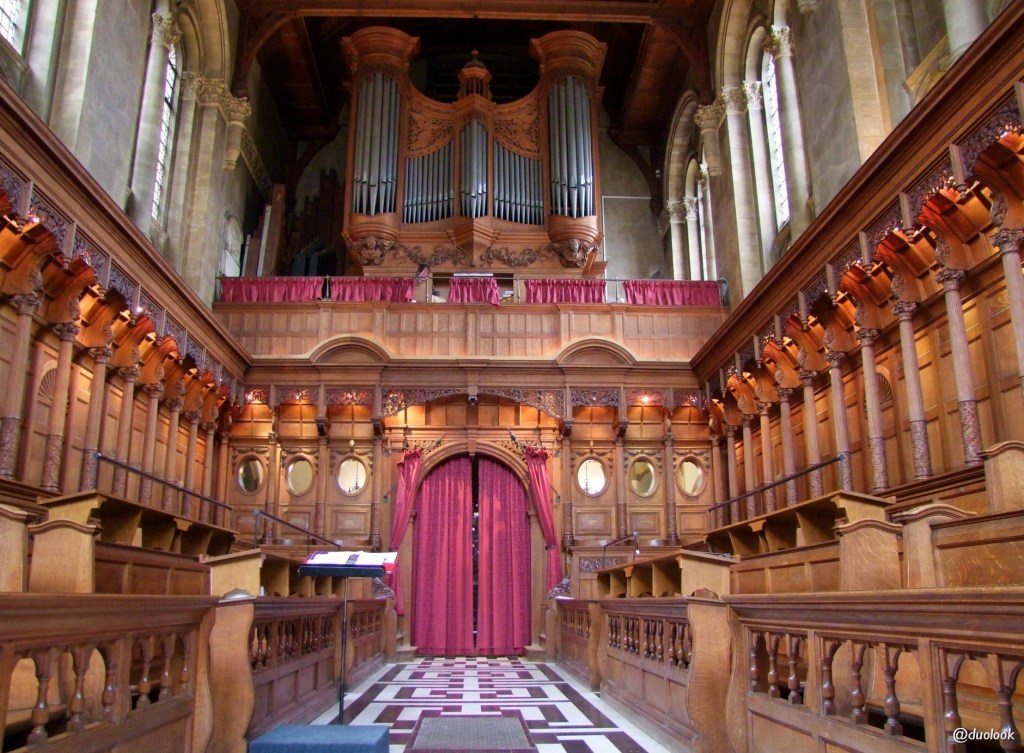 największe atrakcje uniwesrytetu oksfordzkiego hertford
