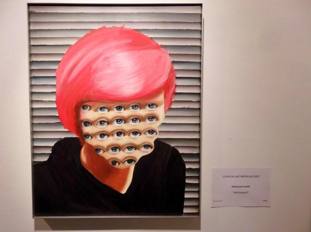 london-art-biennale-chelsea-katarzyna-lamik-self-portrait3-polska-artystka