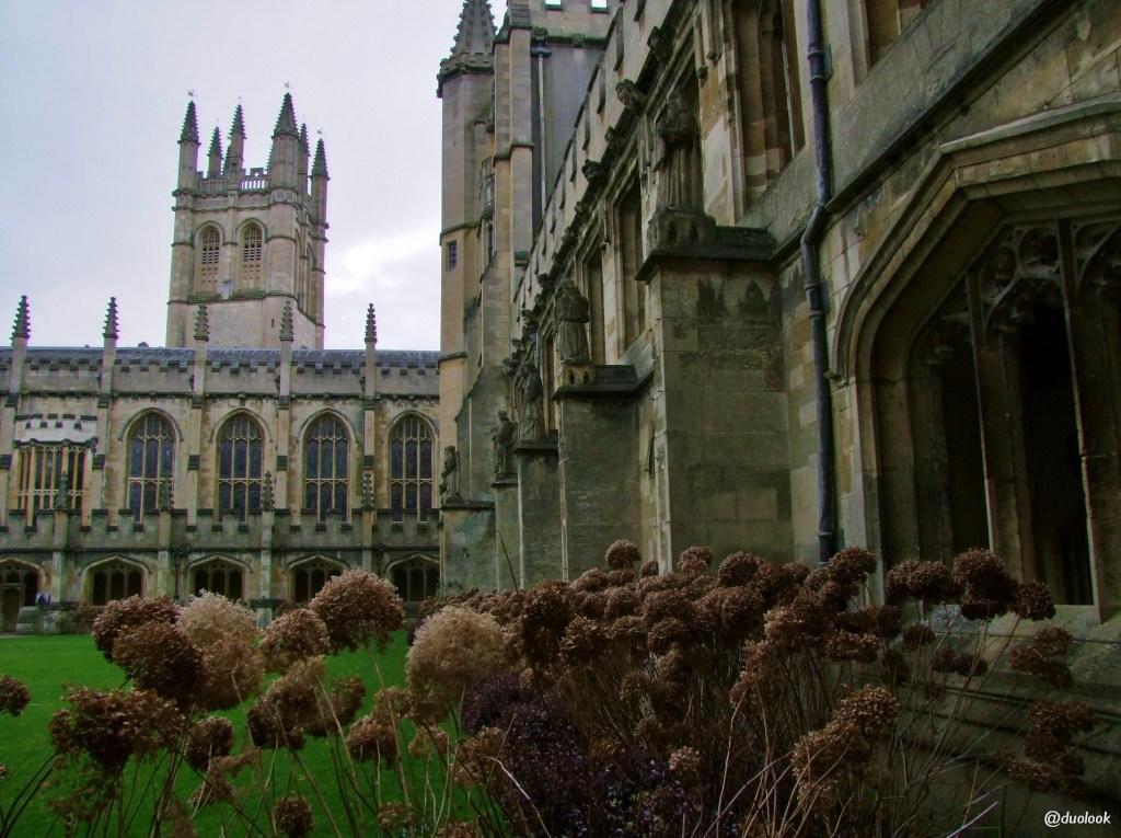 architektura gotycka w anglii kruzganki Oksford