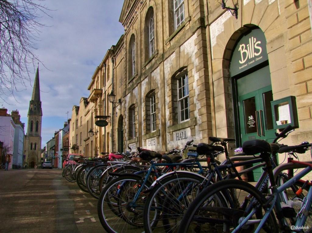 rowery w Oksfordzie