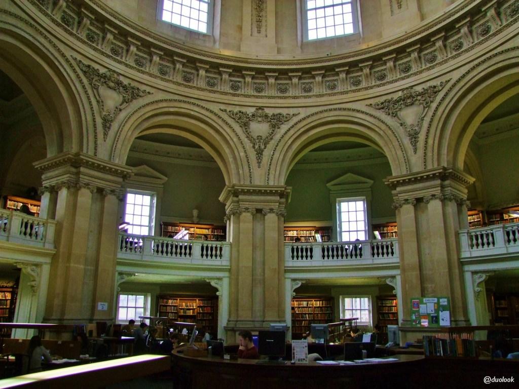 Biblioteka uniwerstytecka w Oksfordzie