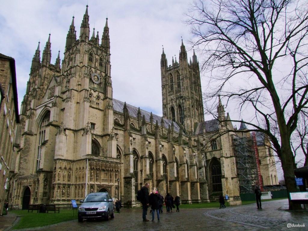 UNESCO swiatowa lista dziedzictwa katedra canterbury anglia