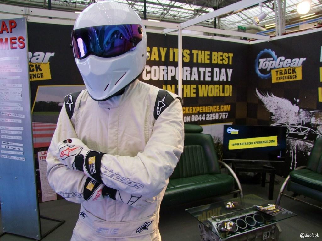 the stig top gear incentive confex wystawcy i odwiedzający w Londynie incentive