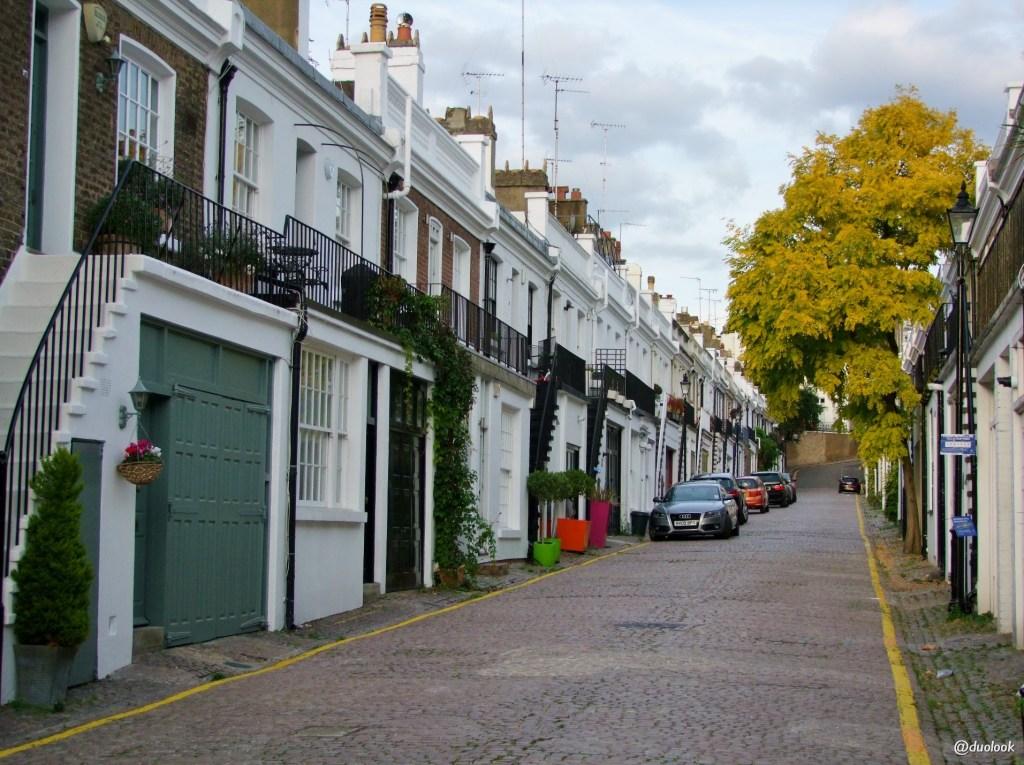 spacery w Londynie poswojemu