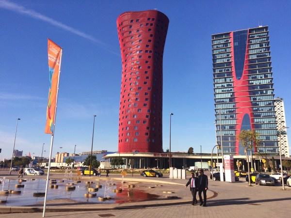Hotel Porta Fira w Barcelonie Emporis Skyscraper Award