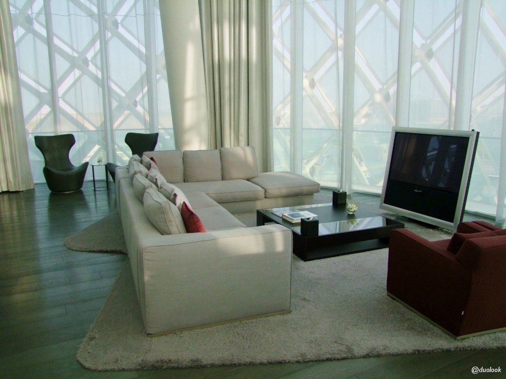 Abu Dhabi hotel apartament prezydencki
