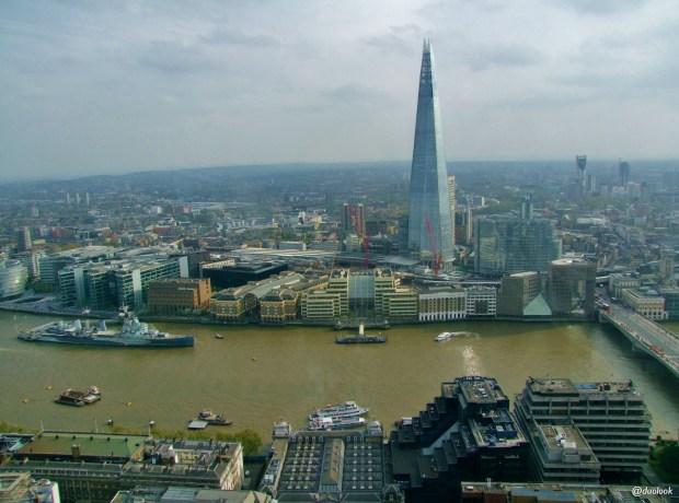 atrakcje w londynie sky garden