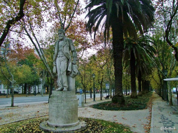 Avenida da Liberdade w Lizbonie