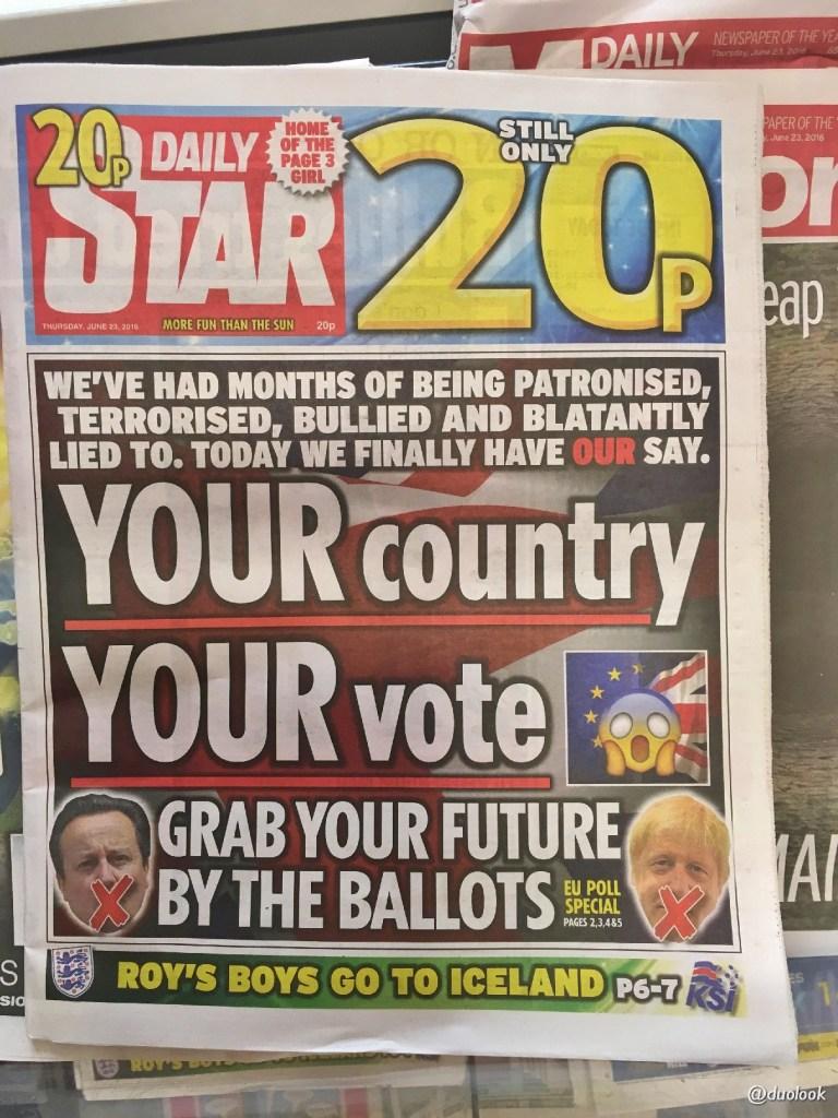 referendum brexit wielka brytania