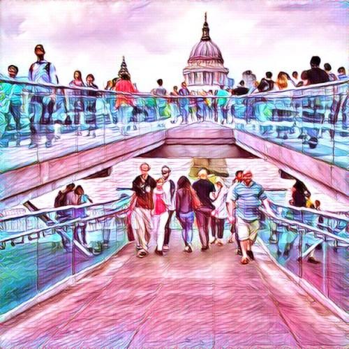 Millenium-bridge-londyn
