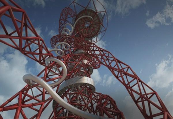 nowa atrakcja londynu arcelormittal orbit slide