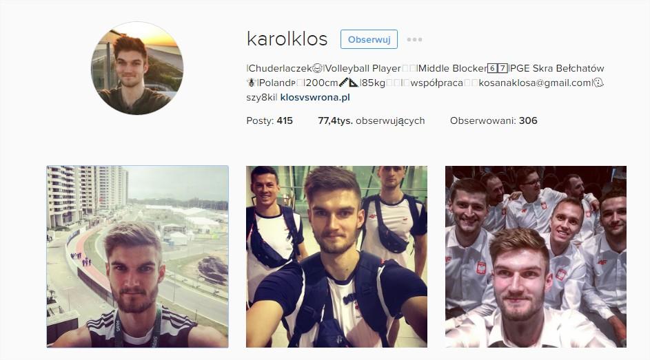 polscy siatkarze w rio na żywo instagram