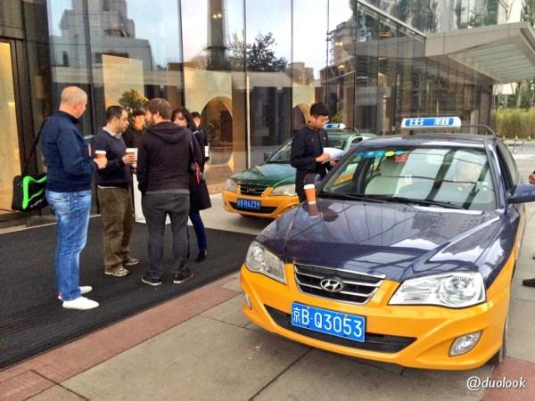taksowki w pekinie chiny