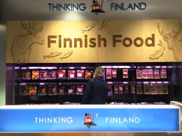 finskie jedzenie helsinki lotnisko