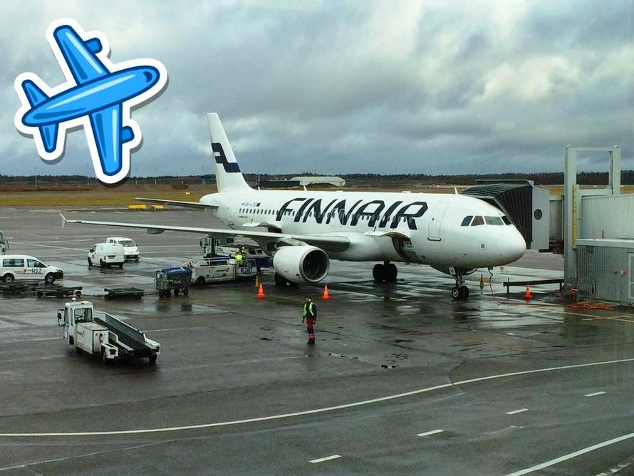 Helsinki lotnisko port lotniczy Finlandia