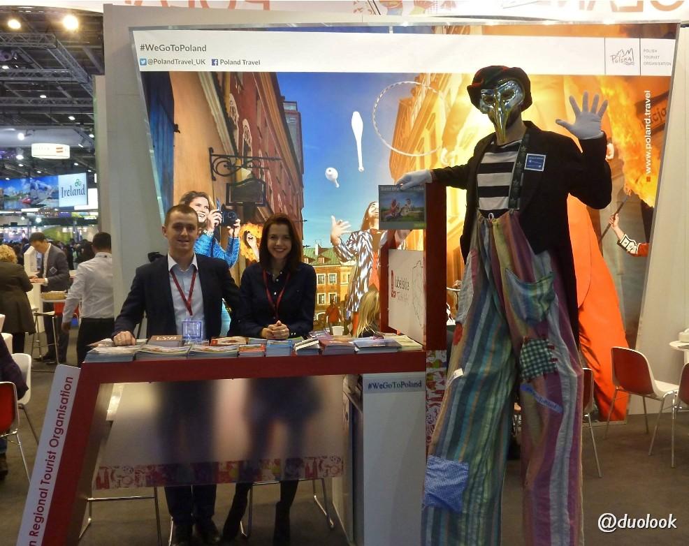 LROT w Londynie Lubelska Organizacja Turystyczna na targach turystycznych