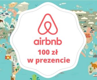Zniżka na nocleg w Airbnb100 zł