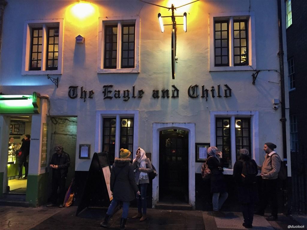 Pub Tolkiena w Oksfordzie