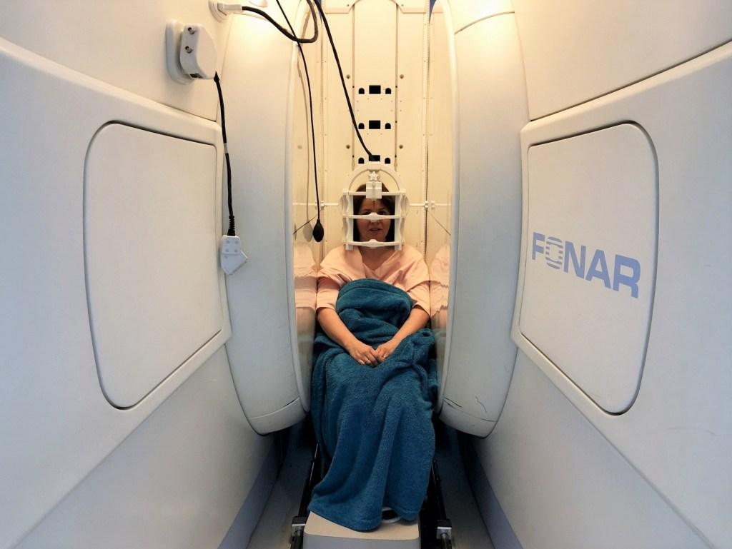 Medserena Upright MRI Centre w Kensington w Londynie.