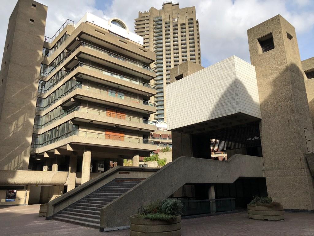 barbican centre brutalizm achitektura modernistyczna Londynu