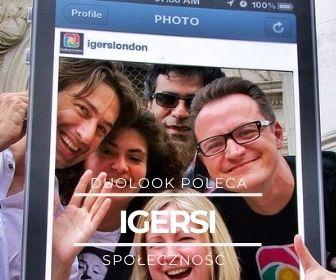 Społeczność Instagram Igers mobilni fotografowie jarosław marciuk igerspoland igerslondon