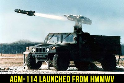 agm-114 hellfire hmmwv