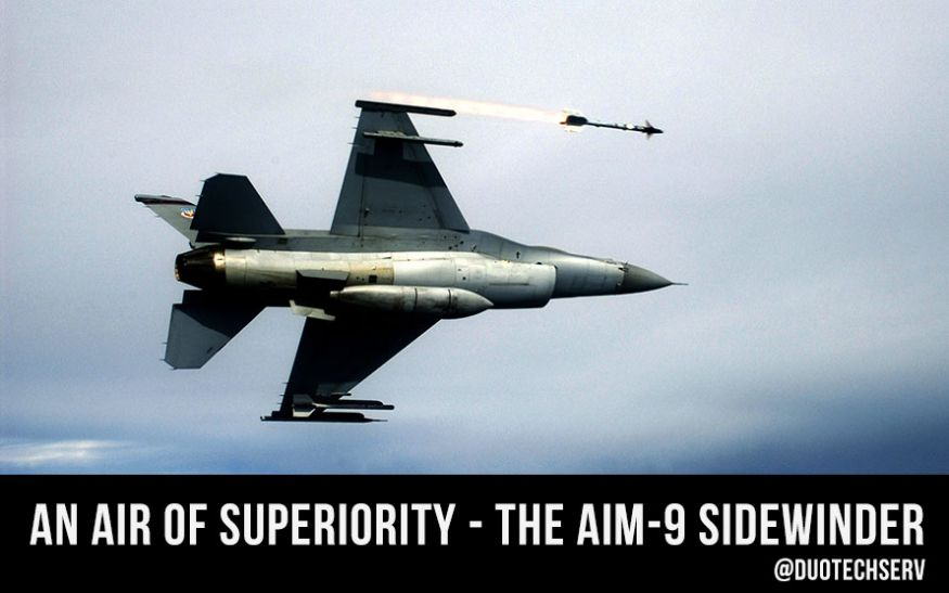 AIM-9 Sidewinder on an F-16