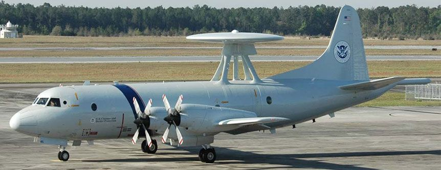 U.S. Customs and Border Protection CPB P-3 Orion