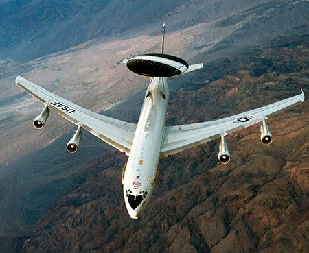 E-3 Sentry AWACS Support Capabilities