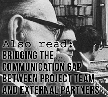 Bridge the Communication Gap Between Project Team and External Partners