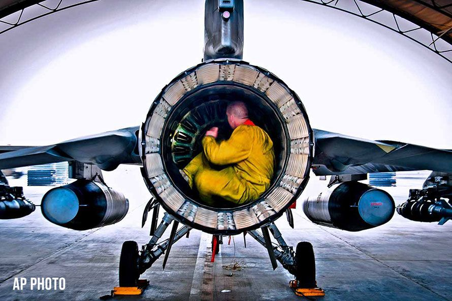 f16 jet engine inspection 281069-1