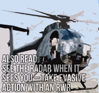 See the Radar When It Sees You - Take Evasive Action with an RWR