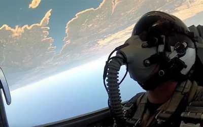 Jet Friday: An F-5 Low-Level Flight, Skimming Lake Tahoe