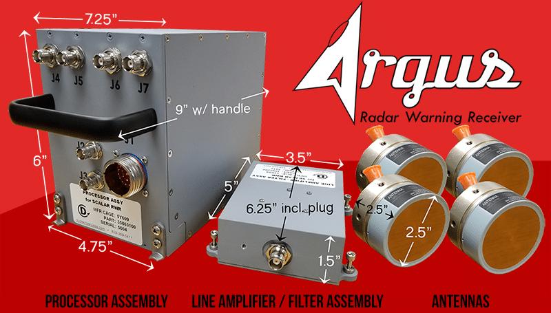 argus rwr radar warning receiver