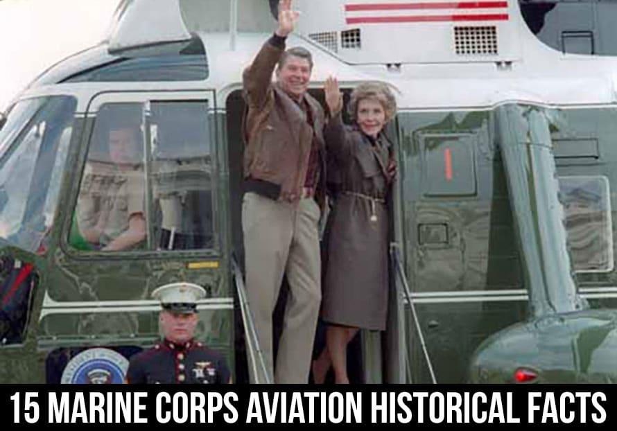 marine corps aviation president reagan on HMX-1 Marine 1