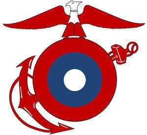 USMC Roundel WWI