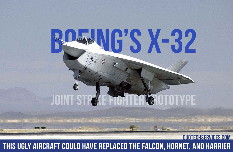X-32 Could Have Replaced the Falcon, Hornet, and Harrier
