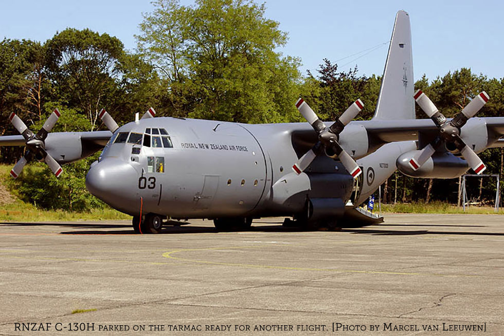 C-130J Super Herc Chosen New Zealand's Military Transport Replacement