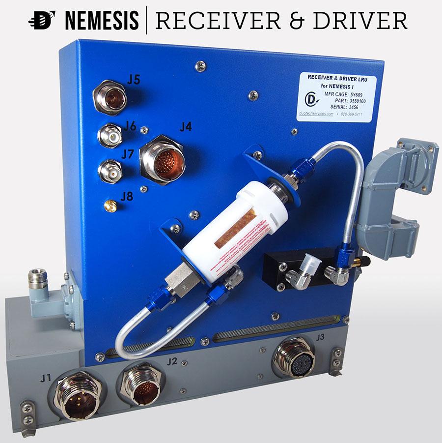 aircraft radar system f-5 radar upgrade nemesis receiver processor