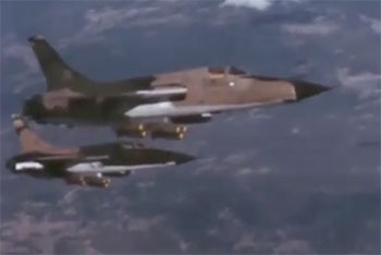 F-105D Thunderchief and F-105F Wild Weasel