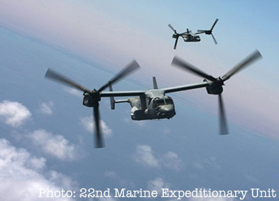 Ospreys assigned to Marine VMM 263