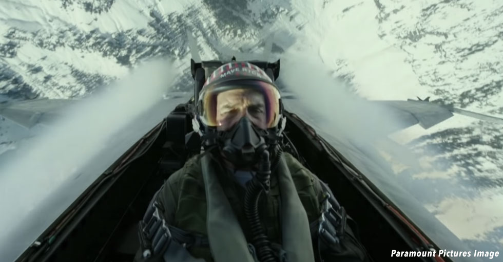 Paramount's Top Gun Sequel Mavericks Realistic Flying Footage