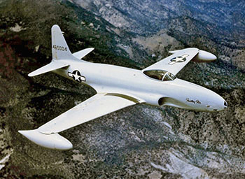 usaf P-80 Shooting Star