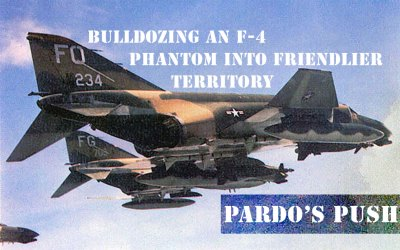 Jet Friday – Bulldozing an F-4 Phantom into Friendlier Territory